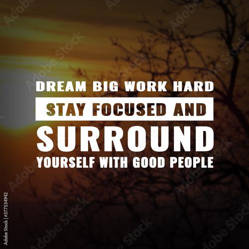 Fotografía Best inspirational quote for success