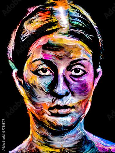 Fototapeta Face Paint obraz