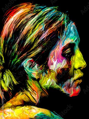 Fototapeta Abstract Portrait obraz