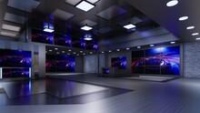 3D Virtual TV Studio News