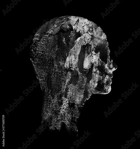 Photo Death Personified Portrait, Frankenstein, Dracula, Death Metal, supernatural, va