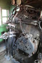 Inside The Cab, Alberta Railway Museum, Edmonton, Alberta