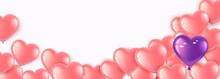 Happy Valentines Day. Gel Ball...