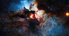 Nebula Night Starry Sky In Rai...