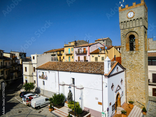 Chiesa di San Luigi Gonzaga con torre dell'orologio, San Luigi Gonzaga Church, A Poster Mural XXL