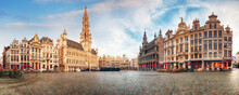 Brussels - Panorama Of Grand P...