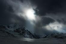 Khunjarab Pass In Winter , Gojal Gilgit Baltistan , Pakistan