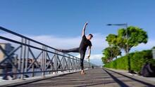 Choreographer In Black Stretch...
