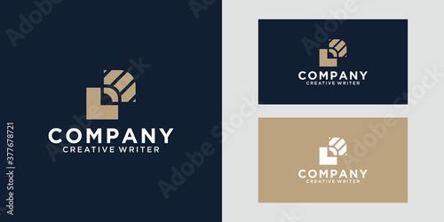 Luxury Logo Design Pen Tableau sur Toile