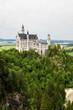 canvas print picture - Sicht von der Marienbrücke auf das Schloss Neuschwanstein