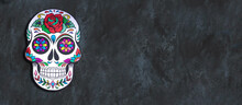 Day Of The Dead. Hand Painted ...
