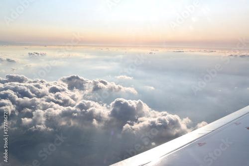 Photo Sommertag über den Wolken