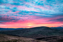 Sunset, Brecon Beacons, Wales