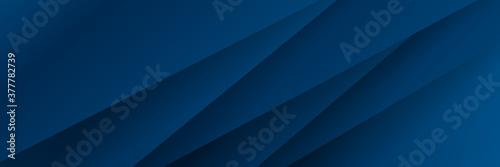 Foto Modern blue banner vector background