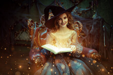 Fairy With Magic Book
