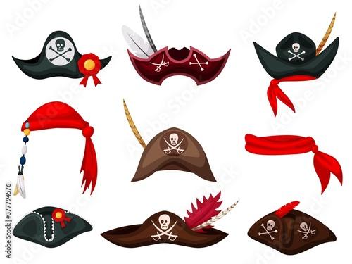 Pirate hat Canvas Print