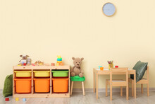 Interior Of Modern Playroom In...