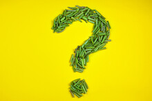 Question Mark Made From Vigna ...