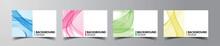 名刺のテンプレート、ビジネス、曲線の美しい模様、デザインテンプレート、カードデザイン