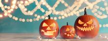 Halloween Party. Jack O Lanter...