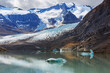 Leinwanddruck Bild Lake in Canada