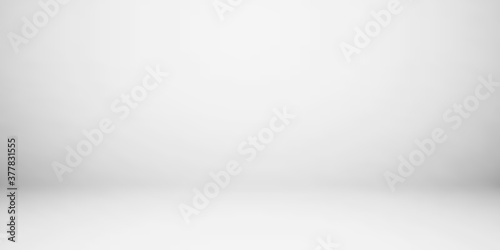 Empty gray color studio room background, can use for background and product display Fotobehang