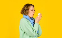 Cough In A Napkin. Runny Nose....