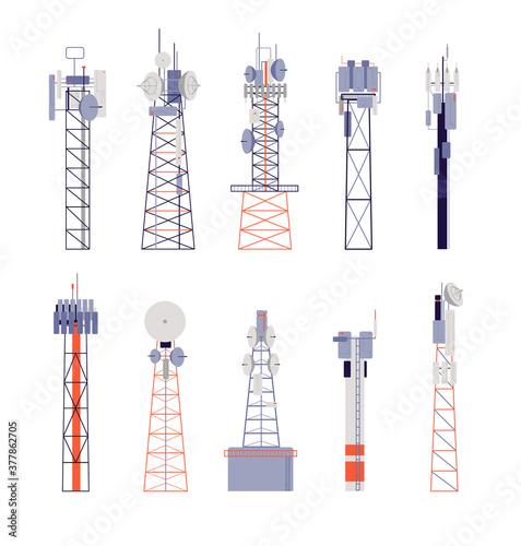 Canvastavla Wireless towers