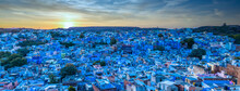 The Famous Blue City, Aerial V...