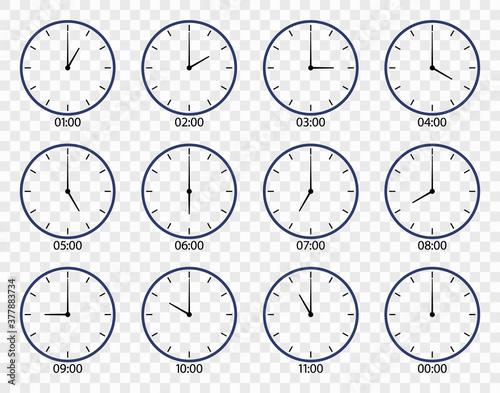 Canvastavla Clock icon
