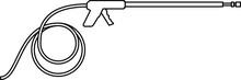Pressure Washer Gun Icon , Vec...