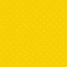 Seamless Yellow Polka Dot Background