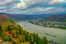 Amazing Top View To Rhine Vall...