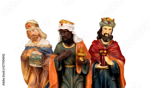 Canvas Print The three wise men