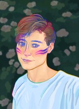 Portrait Of Eeoneguy, YouTuber