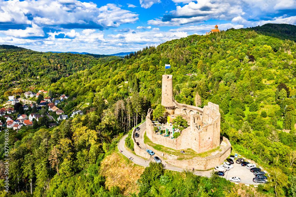 Fototapeta Windeck Castle in Weinheim - Baden-Wurttemberg, Germany