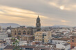Bell tower of the Cathedral of Malaga, Spain