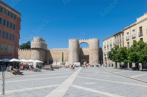Murallas de Ávila. Puerta del Alcázar.