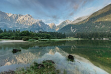 Mirror Reflection In Lago Di F...