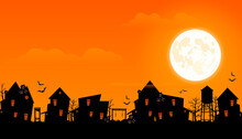 Halloween 2020. City Panorama ...