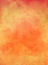 Old Orange Paper Background Wi...
