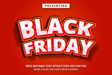 Black Friday Sale Text Effect With Bold Fun Style