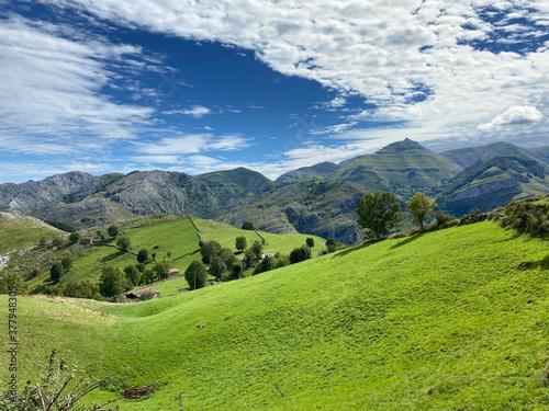Fotografie, Obraz Valles Pasiegos