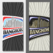 Vector Layouts For Bangkok, De...