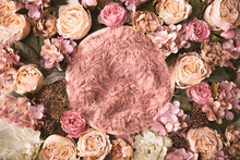 Newborn Floral Background - Ro...