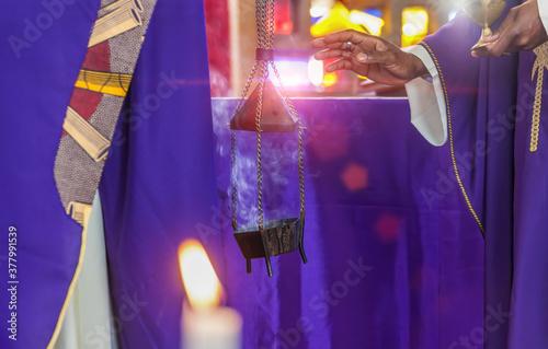 Fotografia African priest