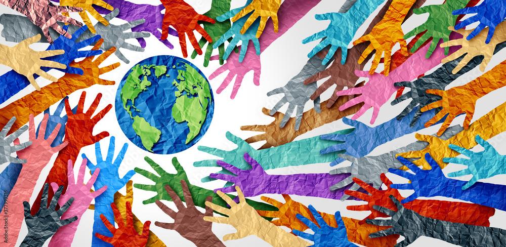 Fototapeta World Diversity
