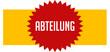 canvas print picture - Abteilung web Sticker Button