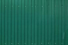Background Of Painted Corrugat...