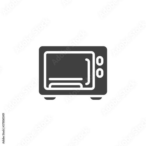 Fotografija Microwave vector icon